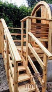 Small barrel sauna for 2 4 persons 2