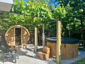 Small barrel sauna for 2 4 persons