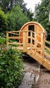 Small barrel sauna for 2 4 persons 4