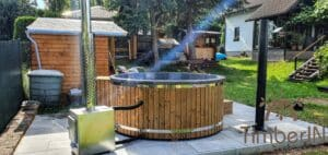 Wood fired hot tub with jets – TimberIN Rojal 5 2