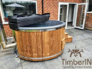 Wood fired hot tub with jets – TimberIN Rojal 5 5