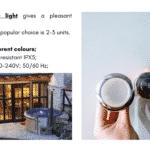 1 LED for wooden hot tub