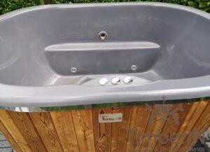 2 person wooden hot tub fiberglass 1