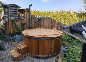 6 – 8 person outdoor hot tub with external heater 2 2