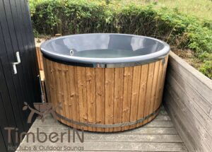 6 8 person outdoor hot tub with external heater 2