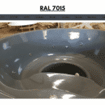 Gray RAL 7015 for wooden hot tub