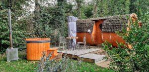 Hot tub terrace spa 8