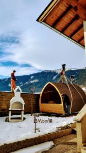 Igloo sauna testimonial 1