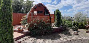 Outdoor Garden Sauna Igloo Design 4