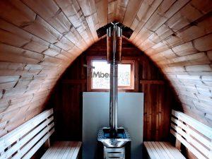 Outdoor Garden Sauna Pod – Iglu 1