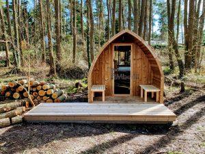 Outdoor Garden Sauna Pod – Iglu 5