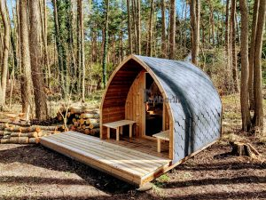 Outdoor Garden Sauna Pod – Iglu 6