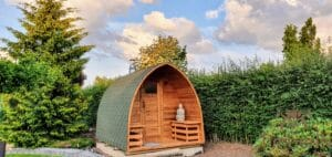 Outdoor home sauna pod 1 5