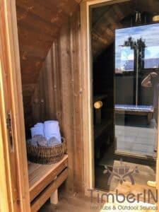 Outdoor home sauna pod 2 4