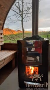 Outdoor home sauna pod 3 3