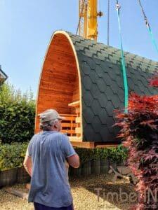 Outdoor home sauna pod 3 5
