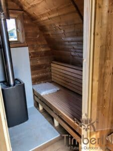 Outdoor home sauna pod 4 2