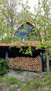 Outdoor home sauna pod 5 1