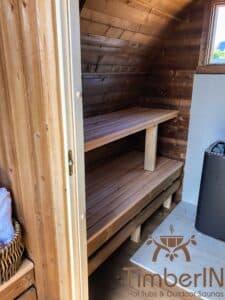 Outdoor home sauna pod 5 2