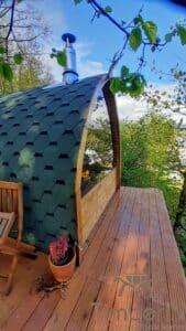 Outdoor home sauna pod 6 1