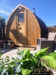 Outdoor home sauna pod 6 2