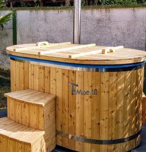 Oval hot tub for 2 persons 2