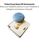 Special gift TimberTemp for wooden hot tub