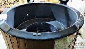 Sunken in ground hot tub 1