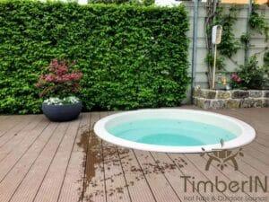 Sunken in ground hot tub 3 2