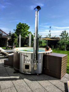 WELLNESS NEULAR SMART Scandinavian hot tub no maintenance required 1