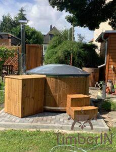 Wood burning hot tub Wellness Royal 1