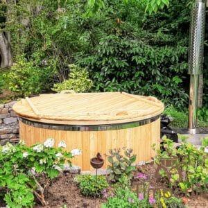Wood heated Hot Tub 1 1
