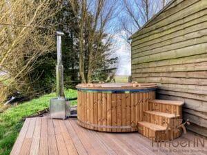 Wood heated Hot Tub 1