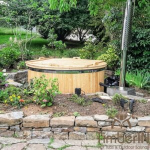 Wood heated Hot Tub 2 1