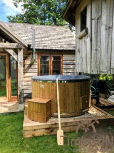 Wood heated Hot Tub 2 2