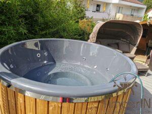 Wood heated Hot Tub 2 3