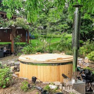 Wood heated Hot Tub 3 1