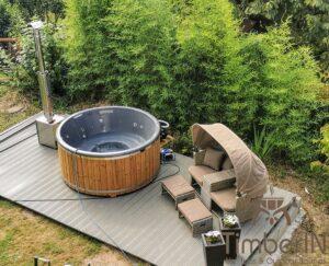 Wood heated Hot Tub 3 3