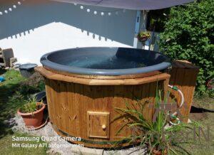 Wood heated Hot Tub
