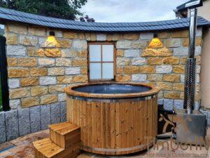 Wood heated Hot Tub 5