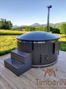 Wood or Pellet fired hot tubs WPC 1 1