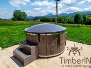 Wood or Pellet fired hot tubs WPC 2 1