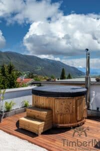Wood or Pellet fired hot tubs WPC