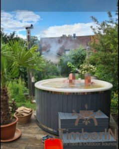Wood or Pellet fired hot tubs WPC 4