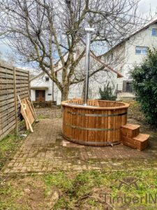 Barrel Wooden Hot Tub Deluxe thermowood 2