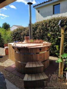 Barrel Wooden Hot Tub Deluxe thermowood