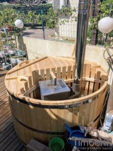 Cheap wooden hot tub 2