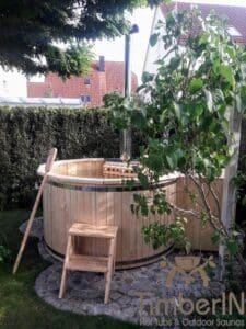 Wood fueled hot tub 2