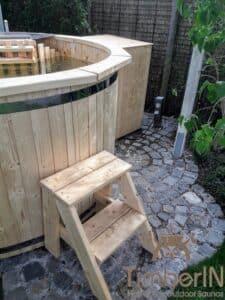 Wood fueled hot tub 3