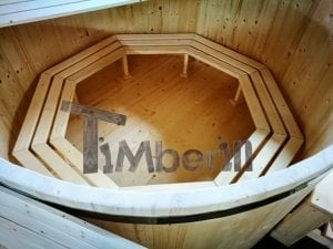 Wooden hot tub basic model by TimberIN 11